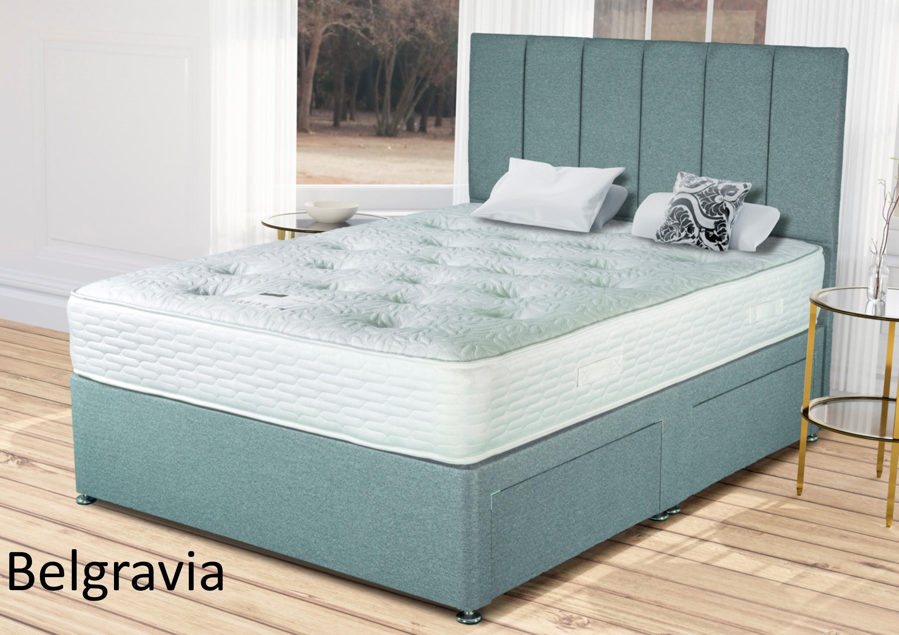 reputable site c6288 7d852 4'6 Belgravia Winter/ Summer Double Divan Bed