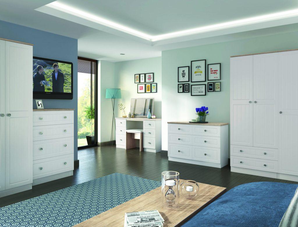 Vienna Kaschmir & Bordeaux Oak Room Set NEW